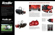 RIDING MOWER ACCESSORIES AND OPTIONS - Exmark