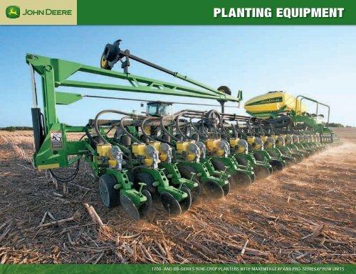 Planting Equipment John Deere