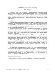 VOLATILIZATION LOSSES FROM UREA D.W. Franzen 1/ Nitrogen ...