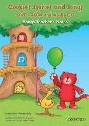Stories & Songs DVD-ROM Songs - Teacher's Notes