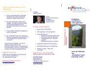 Kollegiales Coaching für Führungskräfte nach KTC - Komvisio