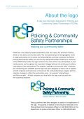 Guidelines for the use of the PCSP logo - Department of Justice - Page 3