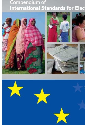 Compendium of International Standards for Elections - the European ...