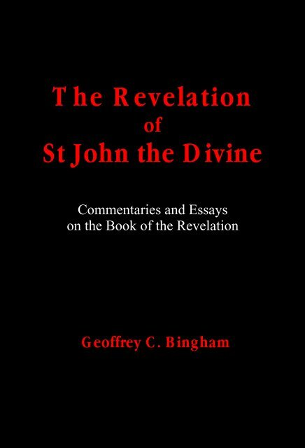 The Revelation of St John the Divine New Creation