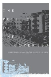 The Politics of the Governed : Reflections On Popular ... - Archivo