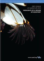 Highlights of - Census of Marine Life
