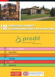 Accessible accommodation. PDF - Spain