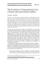 The Evolution of International Law - The Political Theory Workshop ...