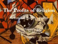 The Profits of Religion, 5th edition - Penn State University