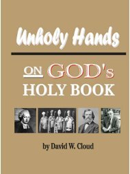 Unholy Hands on God's Holy Book - Historia y Verdad