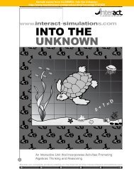 Algebra: Into the Unknown teacher's guide - Good Year Books