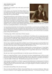 The Unknown Walton - Dr David Wright
