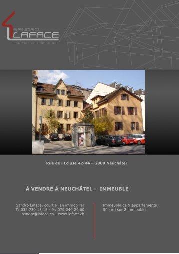 IMMEUBLE - LAFACE courtier en immobilier