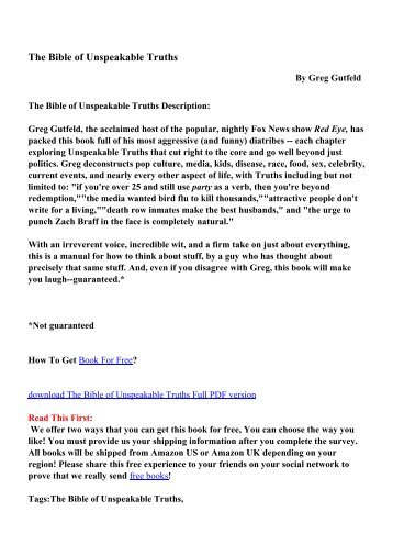 Download the body sculpting bible for chest and arms mens the bible of unspeakable truths pdf ebooks free download fandeluxe Images