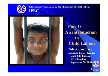 An introduction to Child Labour - International Labour Organization