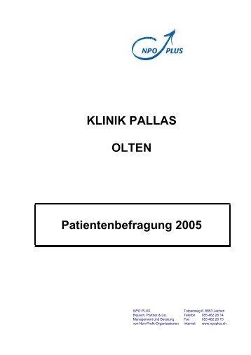 Die neue HELIOS- Patientenbefragung - LVR-Klinik Viersen