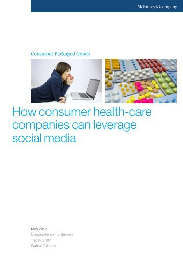 How consumer health-care companies can leverage social media ...