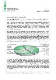 Rapport annuel fenaco 2008 (pdf / 267 KB) - LANDI Schweiz AG