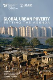 global urban poverty - Woodrow Wilson International Center for ...