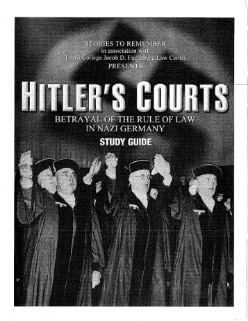 Hitler's Courts - RMFPC