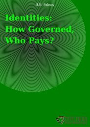 Identities: How Governed, Who Pays? - Eumed.net