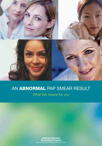 An abnormal pap smear result - Cancerscreening.gov.au