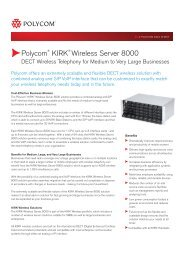 Polycom KIRK Wireless Server 8000 - Wavelink