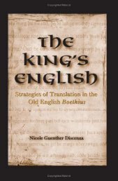 The King's English, Strategies of Translation in the