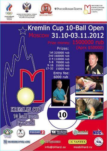 Kremlin Cup 10-Ball Open