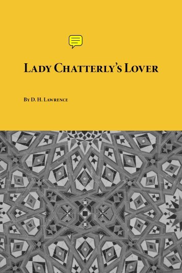 Lady Chatterly's Lover - Planet eBook