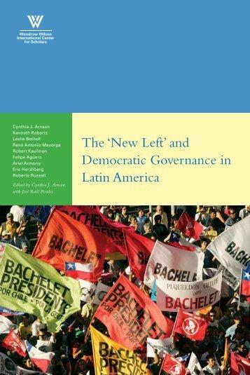 'New Left' and Democratic Governance - Woodrow Wilson ...