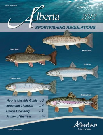 Fishing Regs 2013.indd - My Wild Alberta
