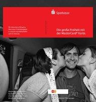 Die große Freieheit mit der MasterCard® Karte. - Sparkasse Duisburg