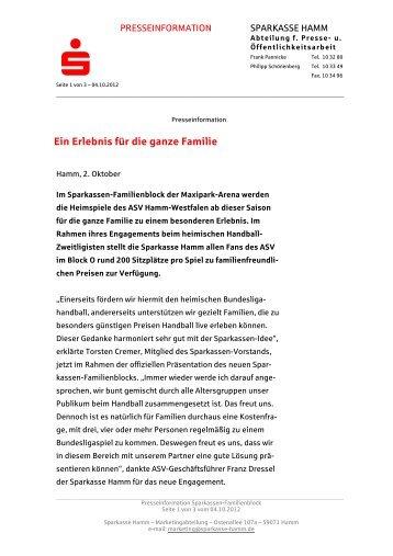 Festgeld Aktionsprodukt - Sparkasse Hamm