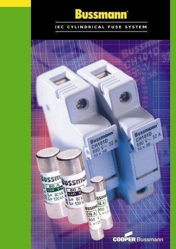 IEC CYLINDRICAL FUSE SYSTEM - Hagelec