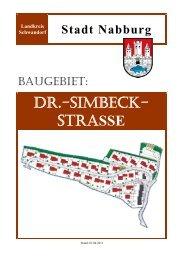 DR.-SIMBECK- STRASSE - Sparkasse im Landkreis Schwandorf