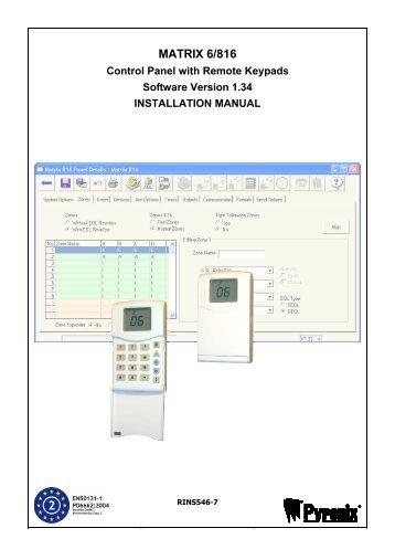 Premier 412 816 832 installation manualpdf rins546 7 matrix 6 816 installation asfbconference2016 Image collections