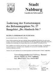 Stadt - Sparkasse im Landkreis Schwandorf