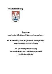 Stadt Nabburg - Sparkasse im Landkreis Schwandorf