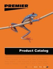 Product Catalog - PREMIER® Products