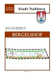 BERGELSHOF - Sparkasse im Landkreis Schwandorf