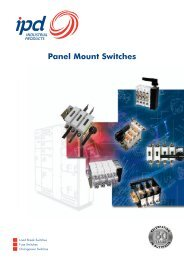 Panel Mount Switches - IPD ...The
