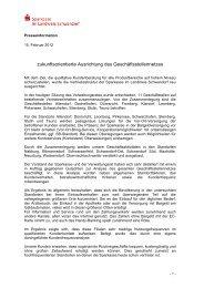 Presseinformation - Sparkasse im Landkreis Schwandorf