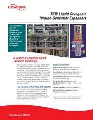 TKW Liquid Cryogenic Turbine-Generator Expanders - Flowserve ...