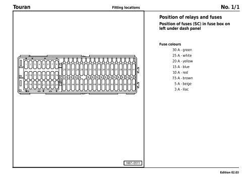 DIAGRAM] Vw Touran Fuse Diagram FULL Version HD Quality Fuse Diagram -  SOADIAGRAM.NUOVAMAM.ITDiagram Database