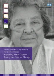Improving Home Oxygen: Testing the Case for Change