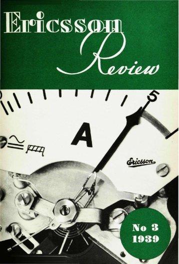 ericsson review - History of Ericsson - History of Ericsson