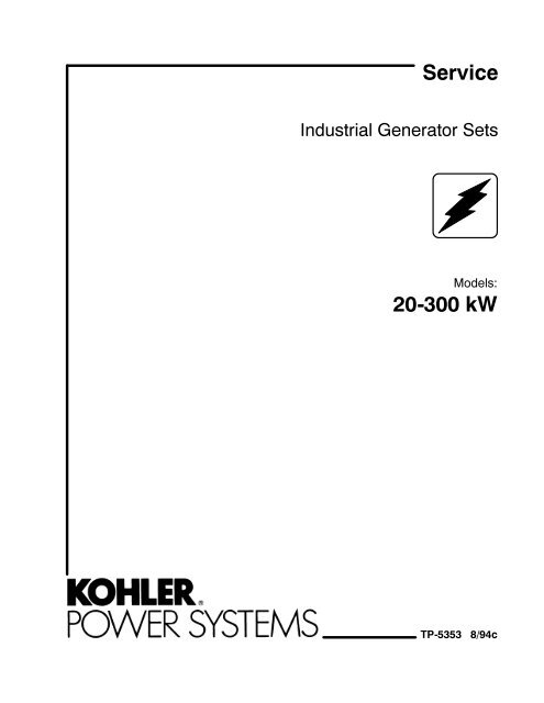 Service Manual 20 300 KW FR II TP 5353 ImageEvent