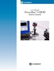 PowerMax™-USB/RS - Coherent