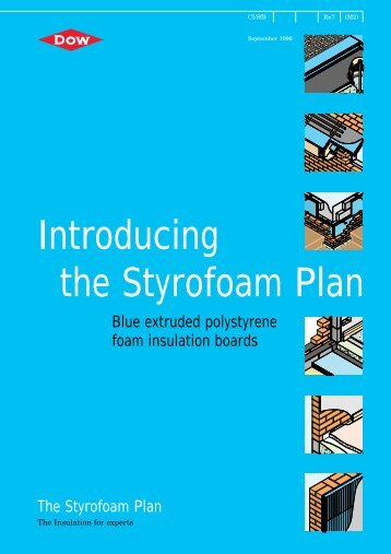 Introducing the Styrofoam Plan - The Dow Chemical Company
